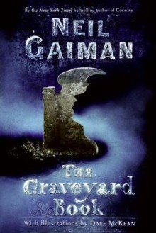 Graveyard Book cover art