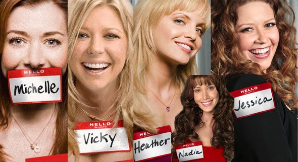 Collection of American Reunion female character stills