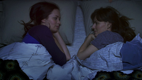 Emily Blunt and Rosemary DeWitt in Your Sister's Sister (Courtesy of IFC Films)