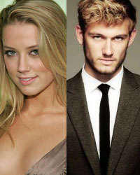 Amber Heard and Alex Pettyfer