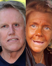 Gary Busey and the Tanning Lady