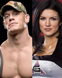 John Cena and Gina Carino