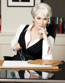 Meryl Streep in Devil Wears Prada