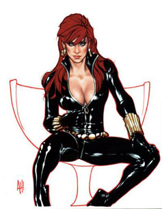 Black Widow Comic