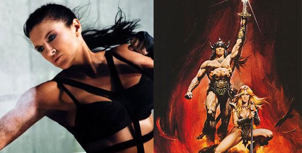 Gina Carano, Arnold Schwarzenegger