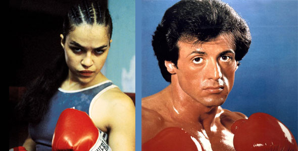 Michelle Rodriguez, Sylvester Stallone