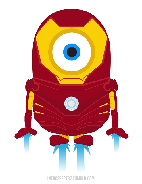 Images Of The Day Despicable Me Minions As Marvel Dc