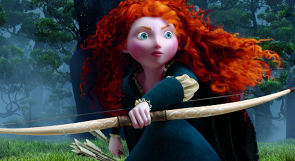 Brave Bow Girls on Film: 'Brave' Visuals and the Struggle of Storytelling