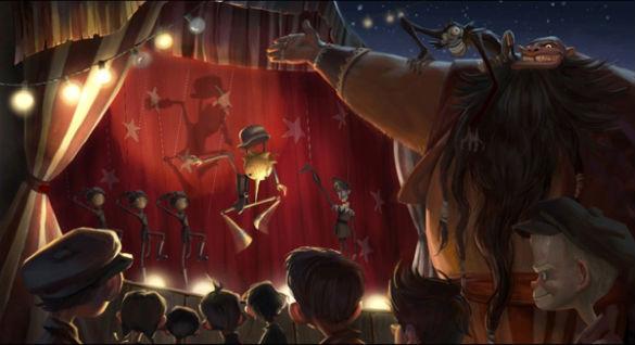 Pinocchio - concept art