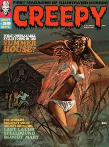 Creepy Magazine cover art