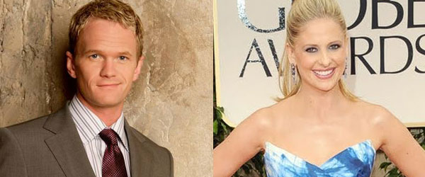 Neil Patrick Harris and Sarah Michelle Gellar