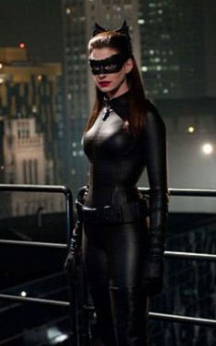 Catwoman in Costume
