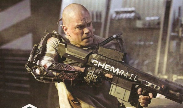 mdc elysium matt damon First Pic of Matt Damon in 'Elysium, Plus: What 'Transformers' Box Office Record Did 'Amazing Spider Man' Break?