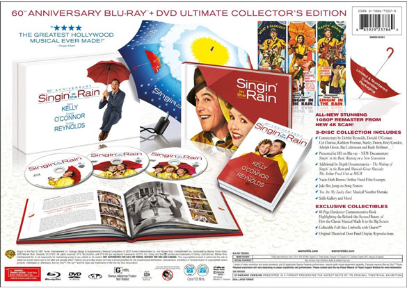 singin in the rain anniversary bd Best of the Week: Comic Con and Batman Galore