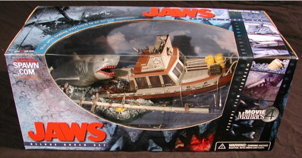Jaws Movie Maniacs box set