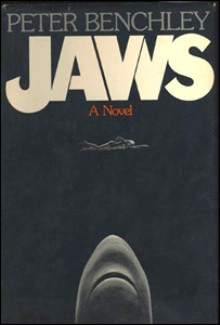 Jaws novel hardcover art