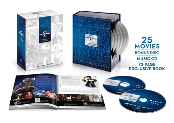 Universal 100th anniversary box set