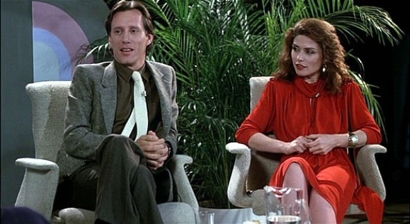 Videodrome James Woods and Debby Harry