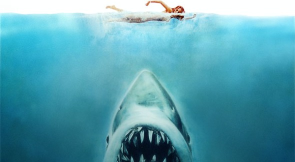 Jaws movie art