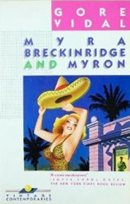 Myra Breckinridge book cover