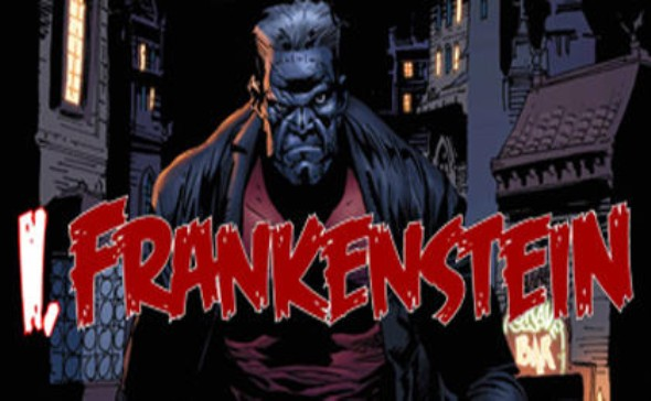 I, Frankenstein comic art