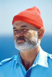 Bill Murray in Life Aquatic