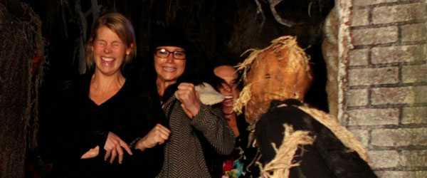 Jennifer Lawrence at the Netherworld Haunted House