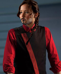 Katniss as Seneca Crane
