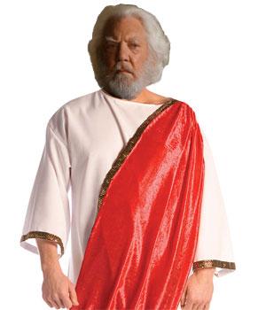 President Snow as a Roman Emporer