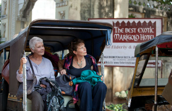 mdc best exotic marigold hotel Movie News: 'Best Exotic Marigold' Sequel; Hurricane Sandy vs. Darren Aronofsky's Ark