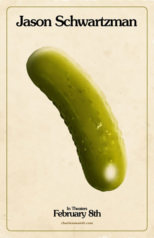 A Glimpse Inside the Mind of Charles Swan III Pickle Poster