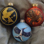 Hunger Games Ornaments