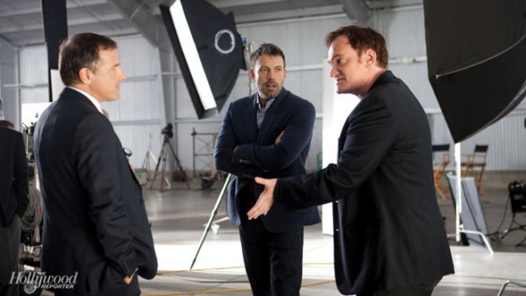 Tarantino, Affleck, and Russell at Director's Roundtable