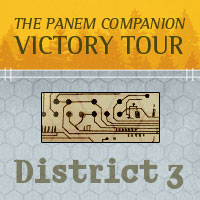 The Panem Companion District 3 Logo