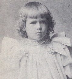 Mary Pickford as a child