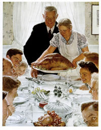 Thanksgiving - Norman Rockwell