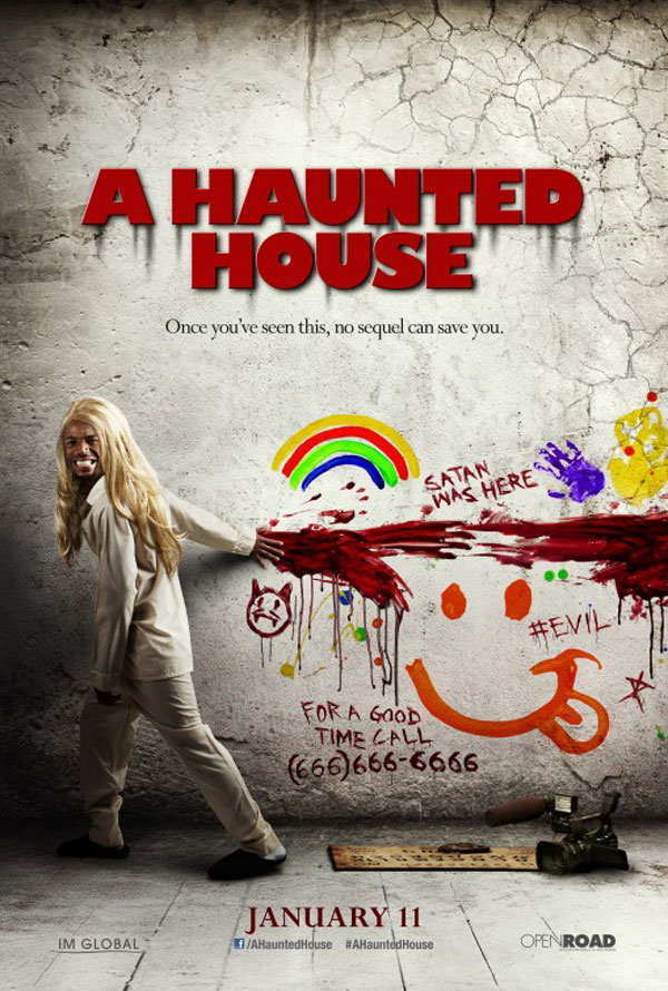 A Haunted House Sinister Spoof Poster