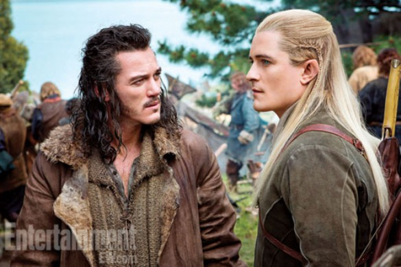 Hobbit there and back Legolas