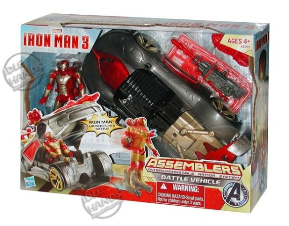 Iron Man 3 toy car