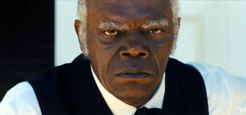 Sam Jackson Django unchained scowl Best of the Week: Sam Jackson Interviewed, Christmas Releases Reviewed, and More