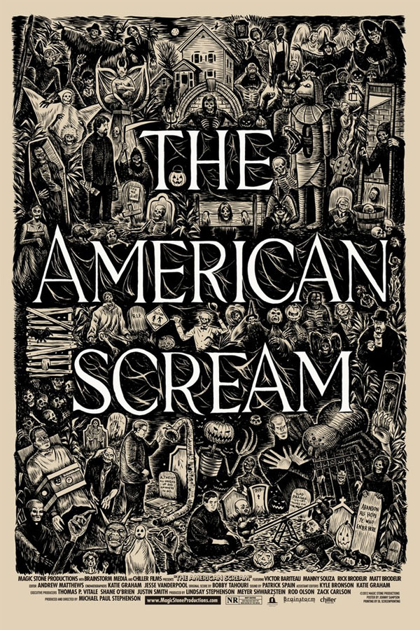 The American Scream Poster