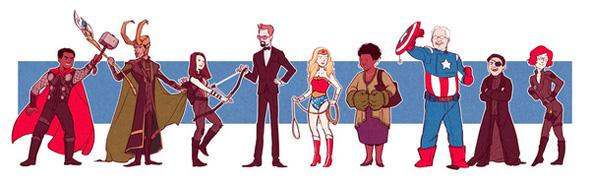 Avengers, Community-style