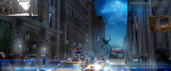 Amazing Spider-Man concept art