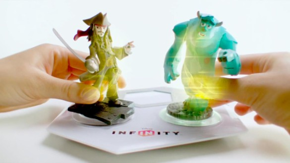 Disney Infinity base and figures