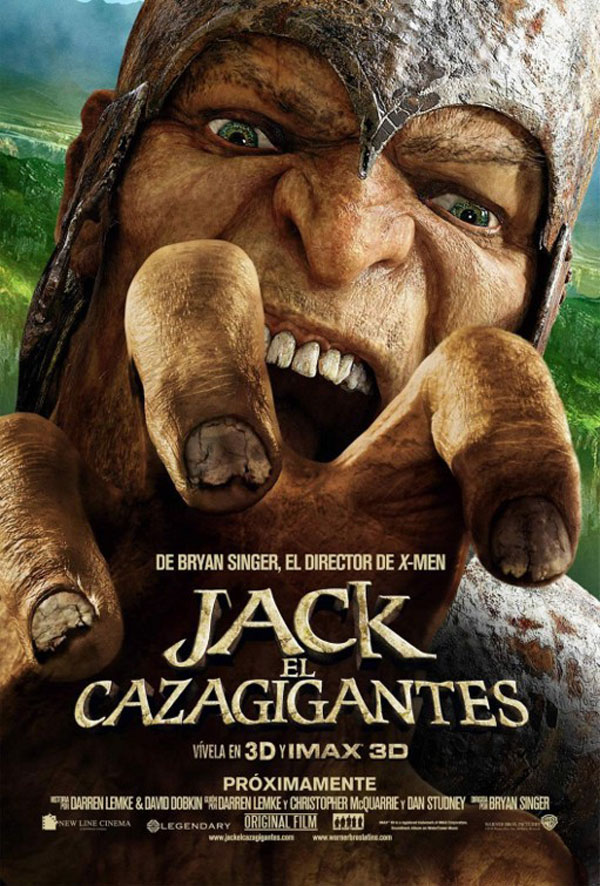 Jack the Giant Slayer Spanish Poster
