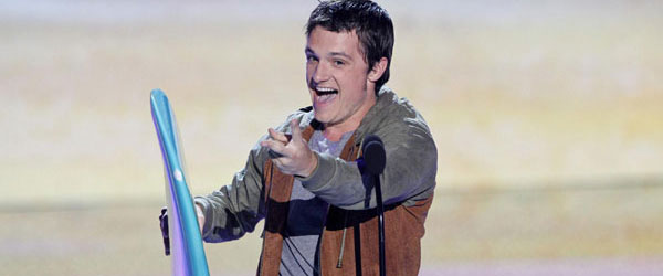 Josh Hutcherson at the Teen Choice Awards