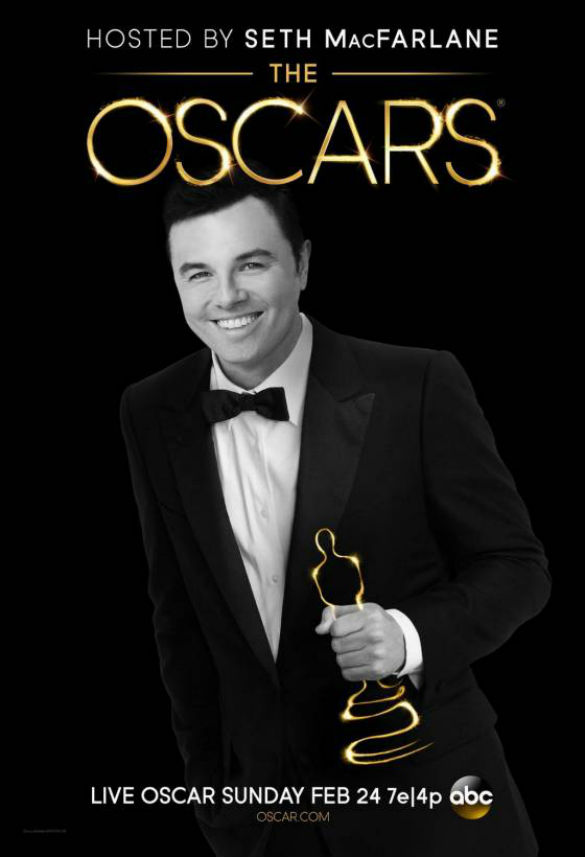 2013 Oscars Poster