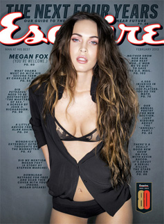 Megan Fox on Esquire