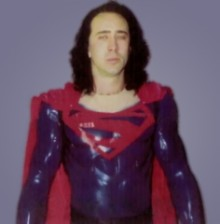 Nic Cage Superman Lives