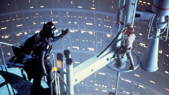 Empire Strikes Back Vader and Luke